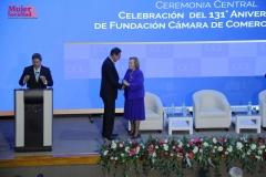 Presidente Martín Vizcarra y Presidenta de la CCL Yolanda Torreani