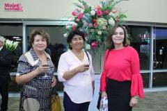 Zoila Hernández, Josefina Hinojosa y Roxana Rivero (MYS)