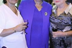 Yolanda Torreani (CCL) junto a Zoila Hernández y Josefina Hinojosa (MYS)