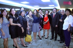 Zoila Hernández (MYS) y Josefina Hinojosa (MYS), Rosa Sanchez, Nestor Becerra