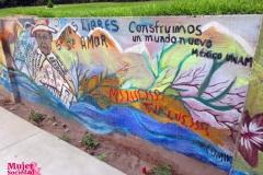 Mural sobre la libertad