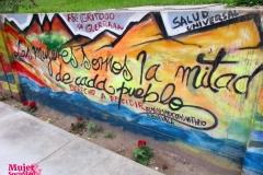 """Mural: """"Derecho a decidir"""""""
