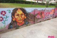 """Mural: """"Decidir nos hace libres"""""""