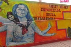 """Mural: """"Ámate mujer empoderada"""""""