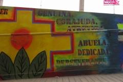 """Mural: """"Mujer genuina, corajuda"""""""