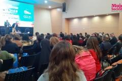 Asistentes del evento IV Foro Internacional de Educación durante el sorteo