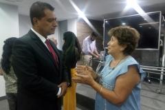 MIDIS Vice Ministro de Politicas y Evaluacion Walter Curioso con Zoila-Hernandez Directora Ejecutiva de MYS