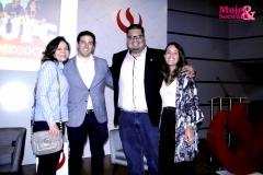 Los expositores: Roxana Rivero, Rodrigo Salazar, Ricardo Rodriguez, Valery Hidalgo