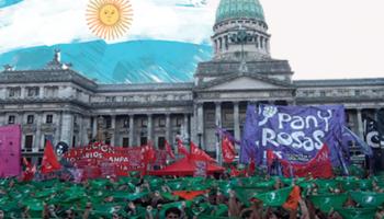 LA MAREA VERDE GANA LA LEY DEL ABORTO EN ARGENTINA